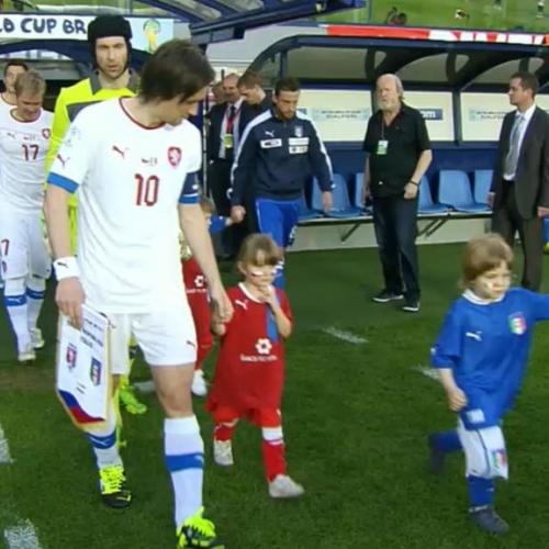 Fotbal ČR - Itálie